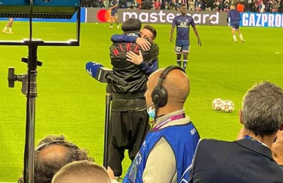 Reuniune emoționantă la Paris! Lionel Messi a luat-o la fugă când l-a văzut pe Ronaldinho. Imaginile care fac înconjurul planetei