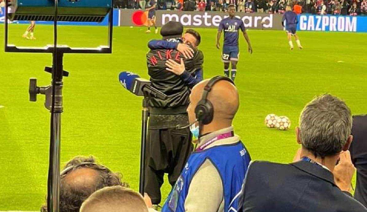 Lionel Messi și Ronaldinho, reuniune emoționantă la Paris