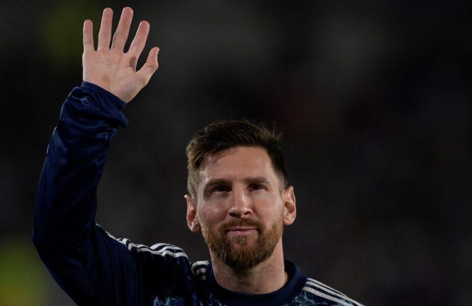 """Lionel Messi, moment incredibil la antrenamentele Argentinei! Mesajul uluitor primit de la un suporter. """"Iart-o pe mama!"""""""