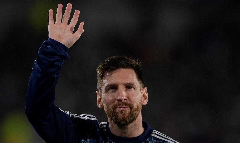 Lionel Messi, moment incredibil la antrenamentele Argentinei