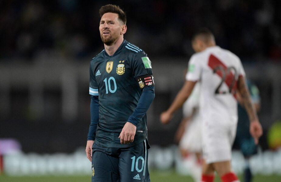 """Lionel Messi, un car de nervi după Argentina – Peru 1-0! Căpitanul """"pumelor"""" a pus tunurile pe arbitru: """"O face intenționat de fiecare dată!"""""""