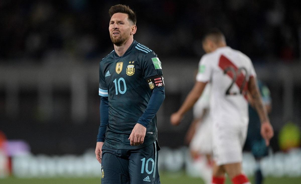 Lionel Messi, un car de nervi după Argentina - Peru 1-0