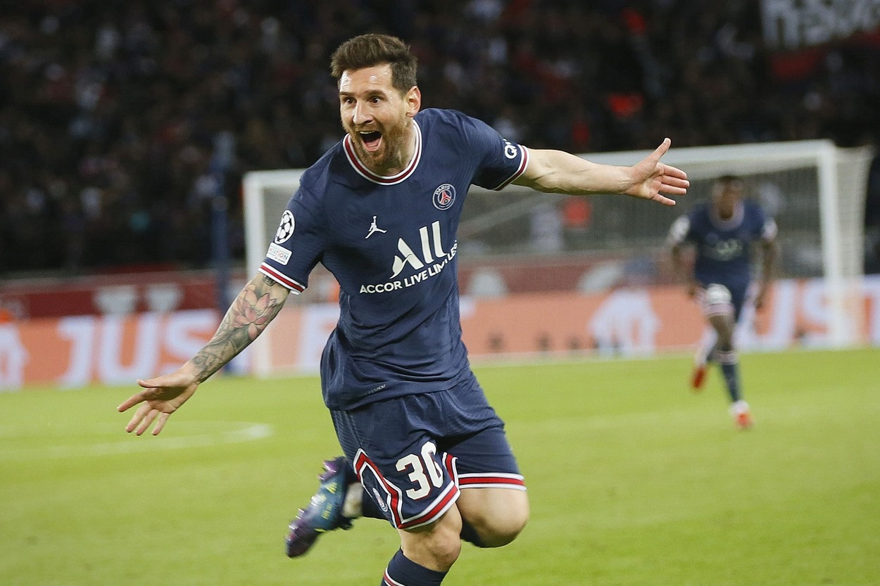 Lionel Messi, erou pe Parc des Princes în PSG - RB Leipzig 3-2