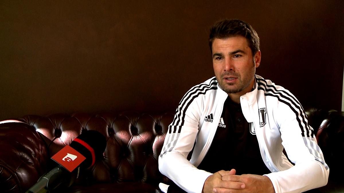 Adrian Mutu, în timpul unui interviu pentru AntenaSport