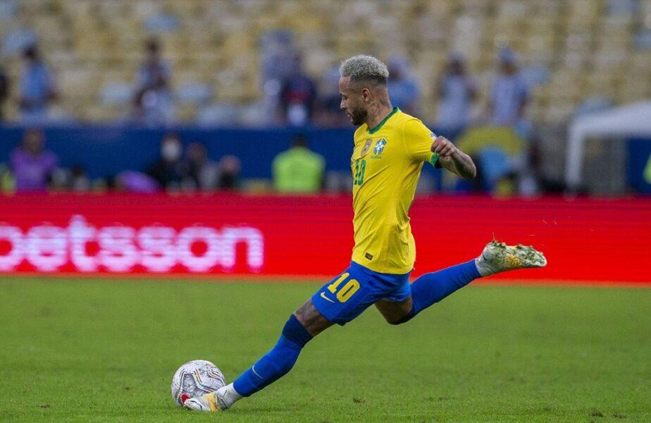 Neymar, spectacol total în Brazilia – Uruguay 4-1! Starul lui PSG este tot mai aproape de recordul legendarului Pele