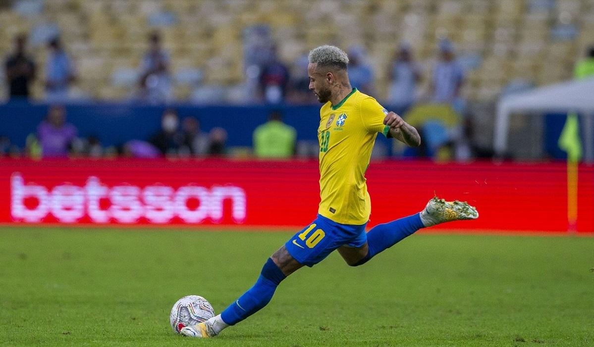 Neymar, spectacol total în Brazilia - Uruguay 4-1