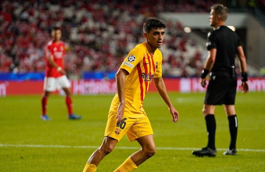 Oficial | Pedri a semnat prelungirea contractului cu Barcelona. Clauză de reziliere de un miliard de euro