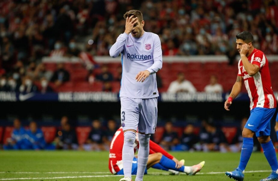 """FC Barcelona, de la """"mai mult decât un club"""" la o echipă obişnuită! Gerard Pique: """"Puteam să mai jucăm trei ore şi tot nu marcam!"""""""