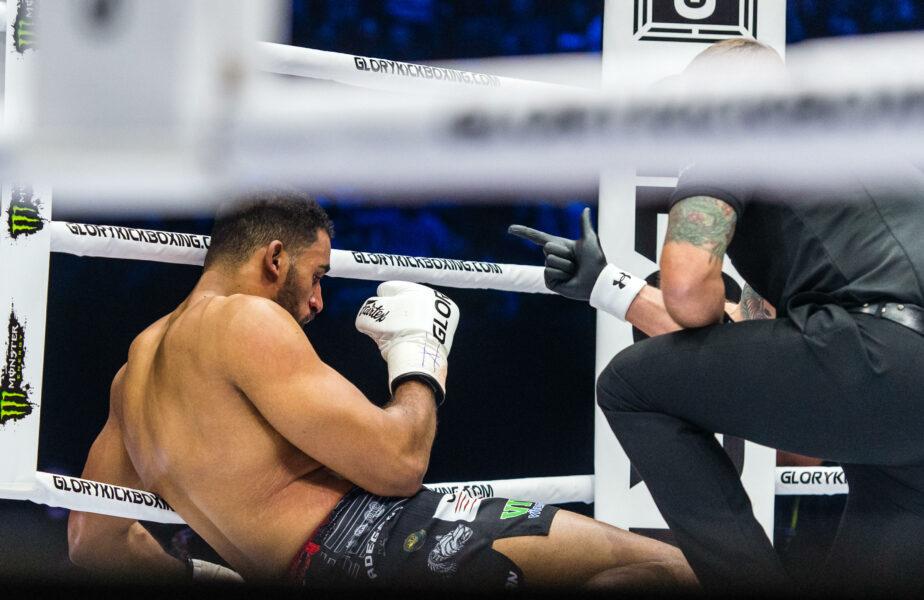 VIDEO Benny Adegbuyi, făcut KO în runda a doua! Meci de coșmar pentru luptătorul român