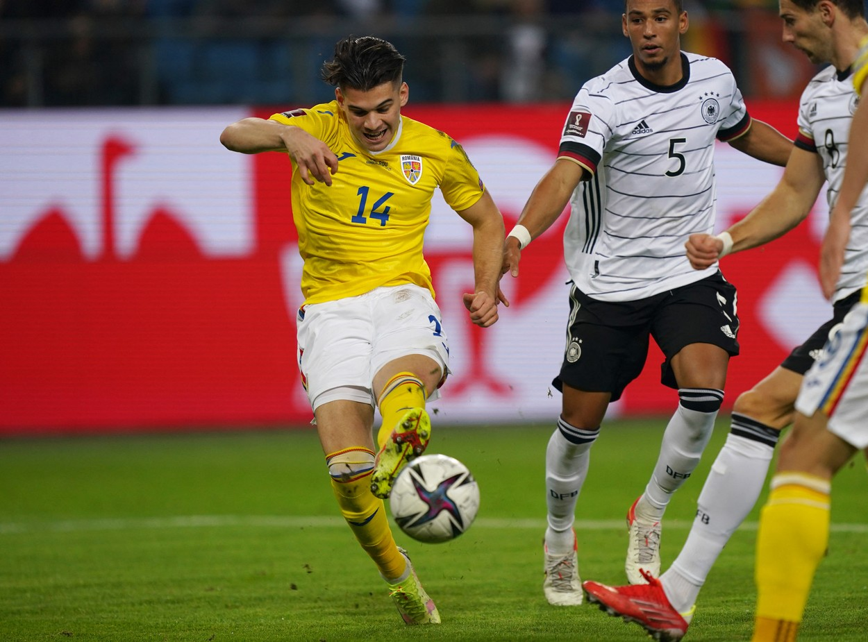 Ianis Hagi a marcat un gol fabulos cu Germania