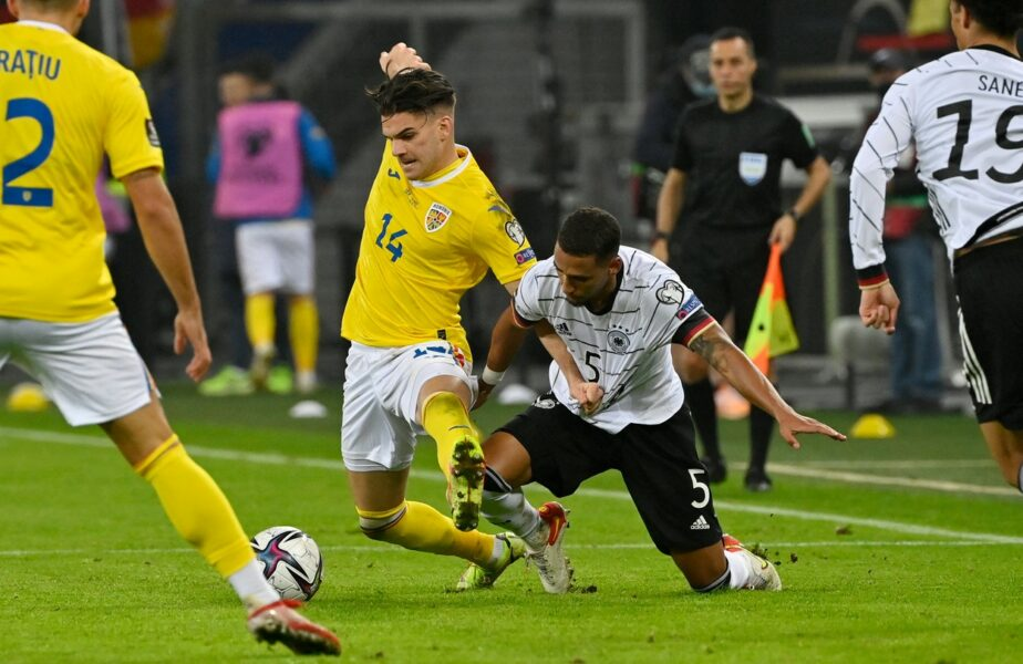 """Germania – România 2-1   Reacţia lui Ianis Hagi, după golul fabulos marcat la Hamburg: """"Nici vreau să mă gândesc la chestia asta! E normal că sunt dezamăgit!"""""""