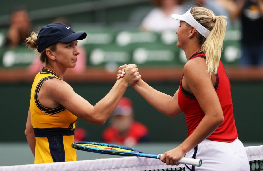 Indian Wells 2021 | Prima reacţie a Simonei Halep, după ce s-a calificat în turul al treilea. Obiectivul anunţat şi ce a nemulţumit-o în partida cu Marta Kostyuc