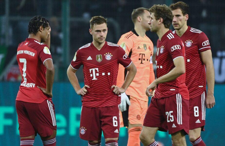 "Monchengladbach – Bayern Munchen 5-0. Rezultat șocant în Cupa Germaniei! Bavarezii, ""demolați"" cu Lewandowski și toate vedetele în teren"