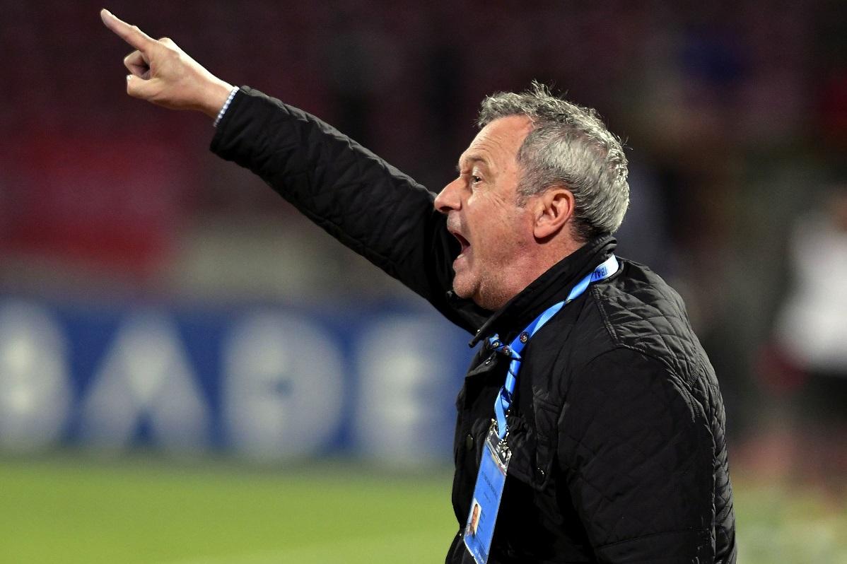 Mircea Rednic și-a pus în cap jucătorii de la Dinamo