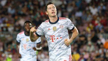 """Măcel în Budesliga! Bayern a marcat 4 goluri în 7 minute împotriva lui Leverkusen: """"Încercați să ne opriți!"""" Robert Lewandowski, gol superb cu călcâiul"""