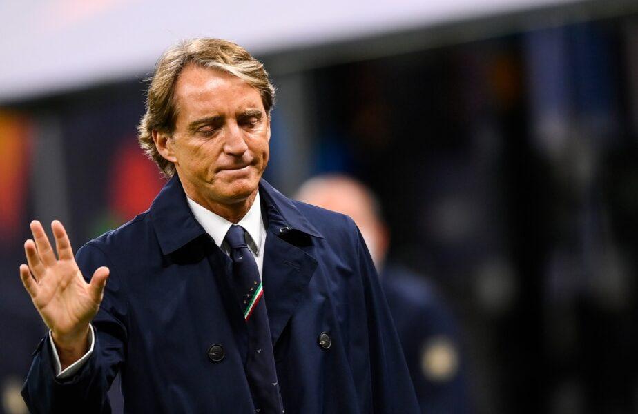 Italia – Spania 1-2 | Reacţia lui Roberto Mancini după ce Italia a pierdut primul meci după 37 de partide. Ce spune de coşmarul prin care a trecut Donnarumma