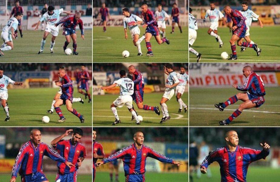 Ronaldo, OZN-ul de acum 25 de ani: 48 metri, 10 secunde, 34 de pași, 16 atingeri