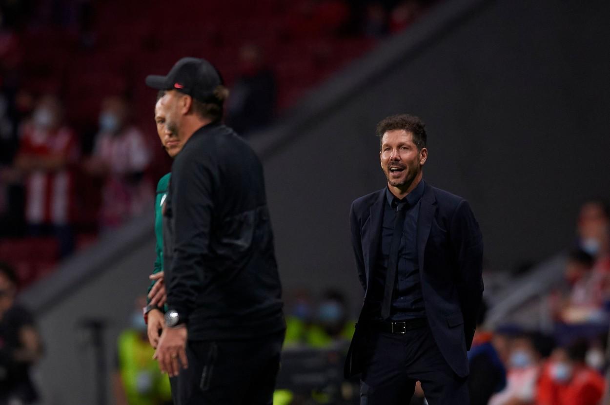 "Diego Simeone l-a lăsat cu mâna întinsă pe Jurgen Klopp: """