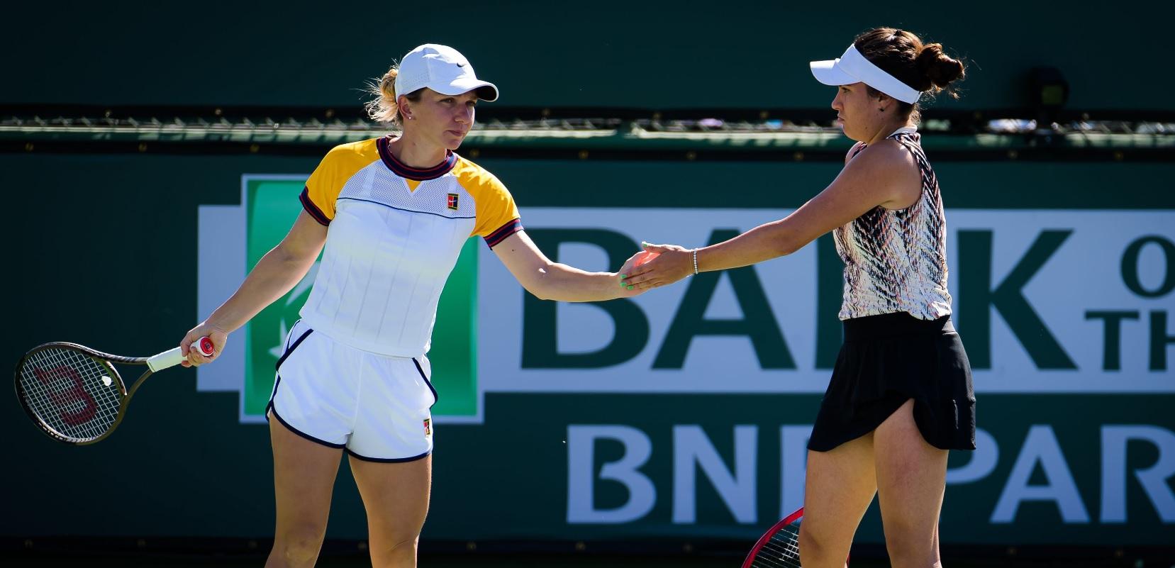 Transylvania Open 2021   Gabriela Ruse, înainte de duelul cu Simona Halep