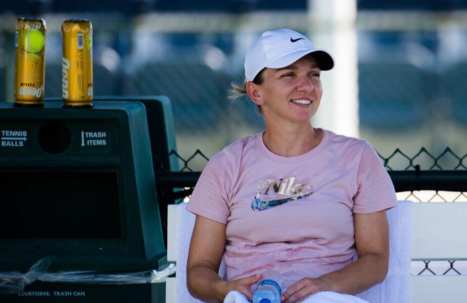 Simona Halep s-a antrenat la Indian Wells cu favorita numărul 1! Cum au fost surprinse cele două