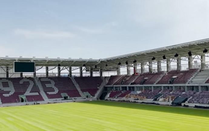 Stadionul Giuleşti va avea un sistem de lumini revoluţionar