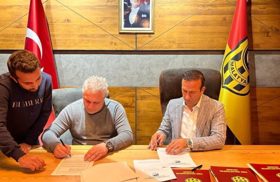 Marius Şumudică a semnat cu Yeni Malatyaspor