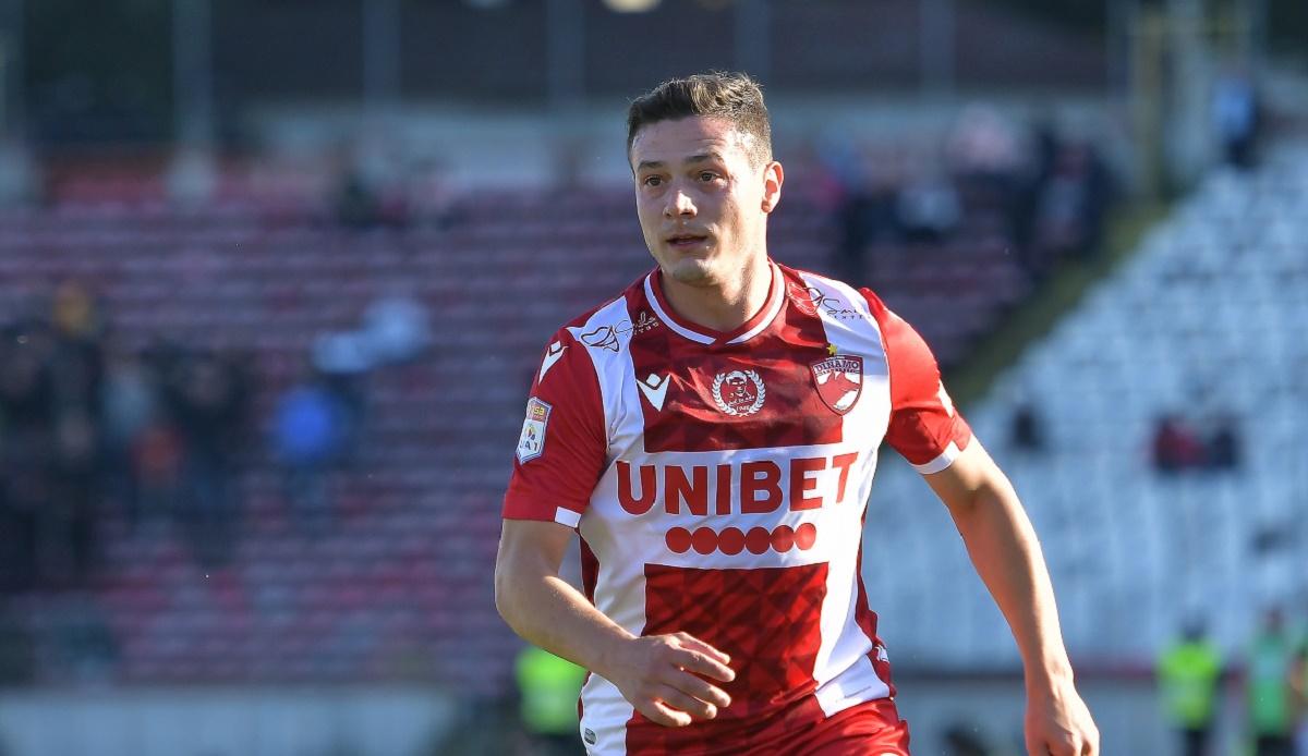Gabi Torje, gol spectaculos în Dinamo - Rapid