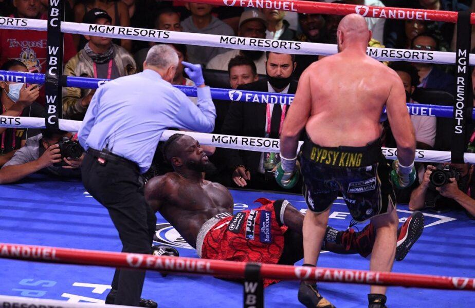 """Tyson Fury l-a învins prin KO pe Deontay Wilder. Și-a păstrat centura WBC! """"O luptă demnă de orice trilogie!"""""""